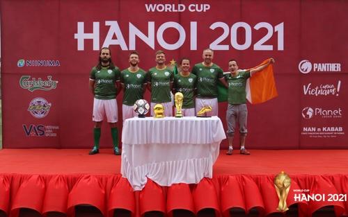 Thegioithethao.vn hợp tác tổ chức giải bóng đá Worldcup Hanoi 2021