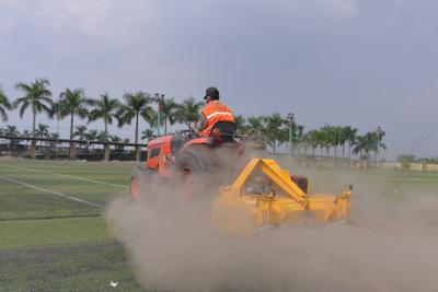 Bảo dưỡng, bảo trì sân bóng đá mini cỏ nhân tạo