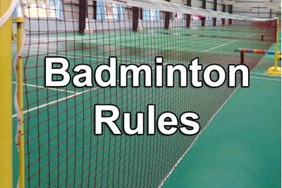 Luật thi đấu cầu lông