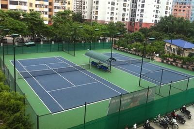 Các loại sân tennis thông dụng hiện nay