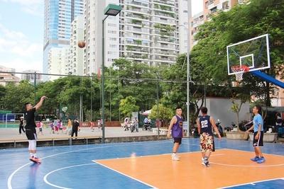 Cập nhật danh sách sân bóng rổ tại Cầu Giấy