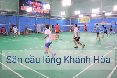Danh sách sân cầu lông tại Khánh Hòa