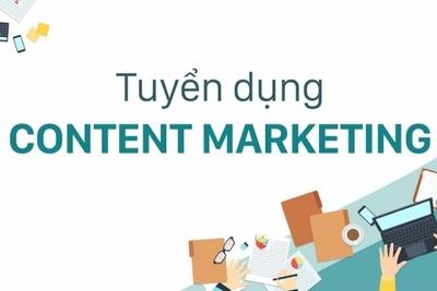 Tuyển dụng thực tập viên Content marketing