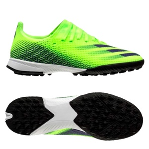 Adidas X Ghosted .3 TF Precision To Blur - Signal Green