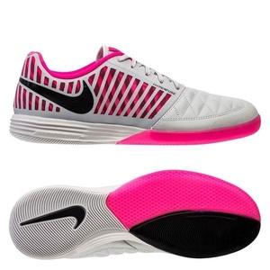 Nike Lunargato II IC - White/Hyper Pink/Black