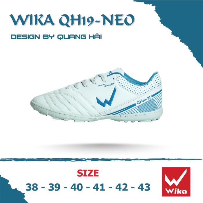 Giày bóng đá WIKA QH19-NEO màu trắng