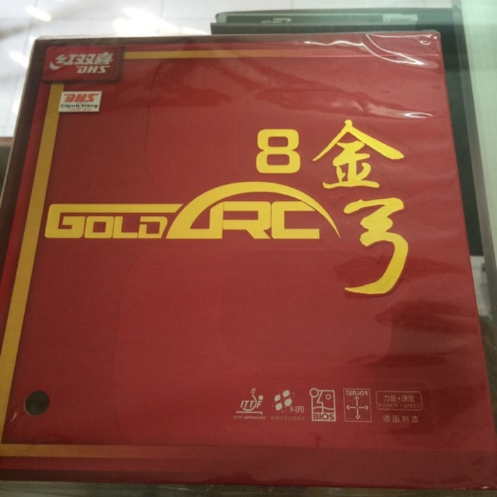 Mặt vợt DHS Gold Arc 8