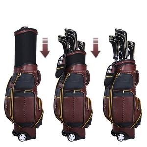 Túi gậy Golf fullset da cao cấp nắp cứng PGM QB043