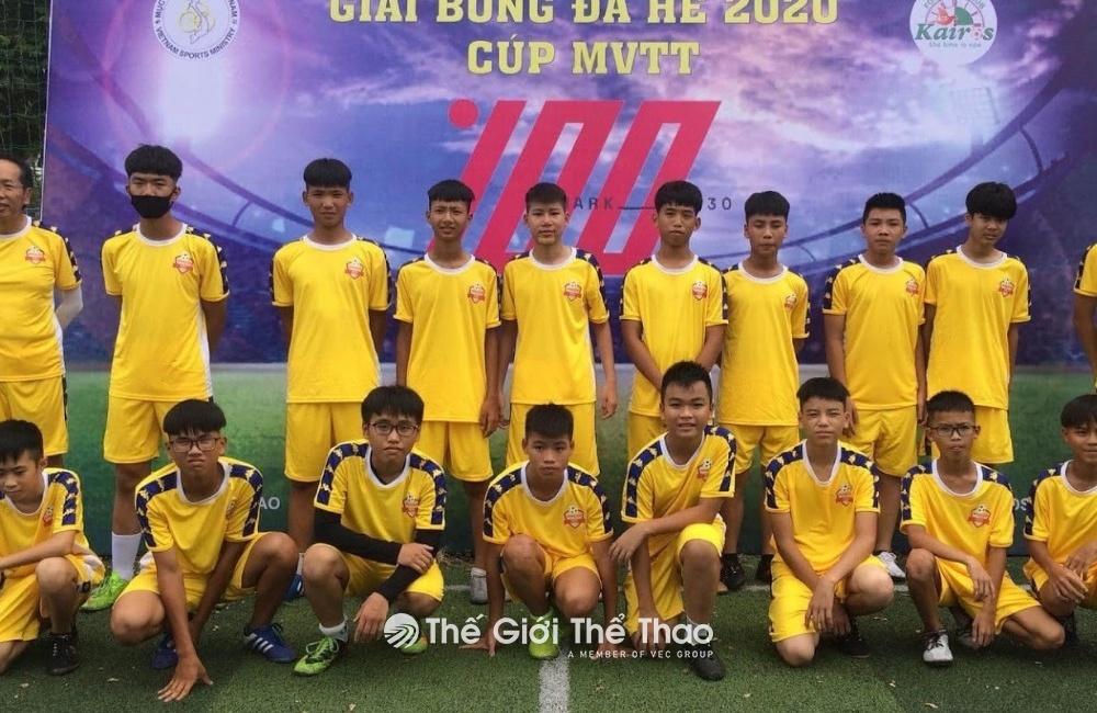 Sân bóng công ty Điện tử Meiko - Thạch Thất Hà Nội