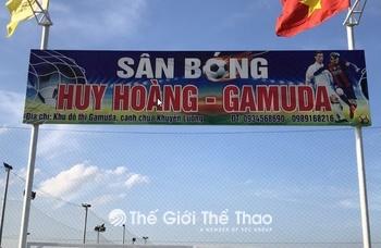 Sân bóng Huy Hoàng Gamuda - Hoàng Mai - Hà Nội