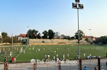 Sân Bóng Đại Học Bách Khoa Hà Nội