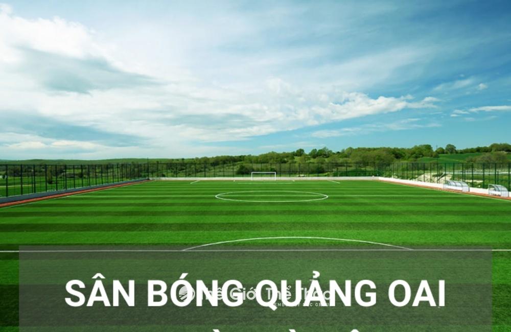 Sân bóng đá Quảng Oai - Ba Vì