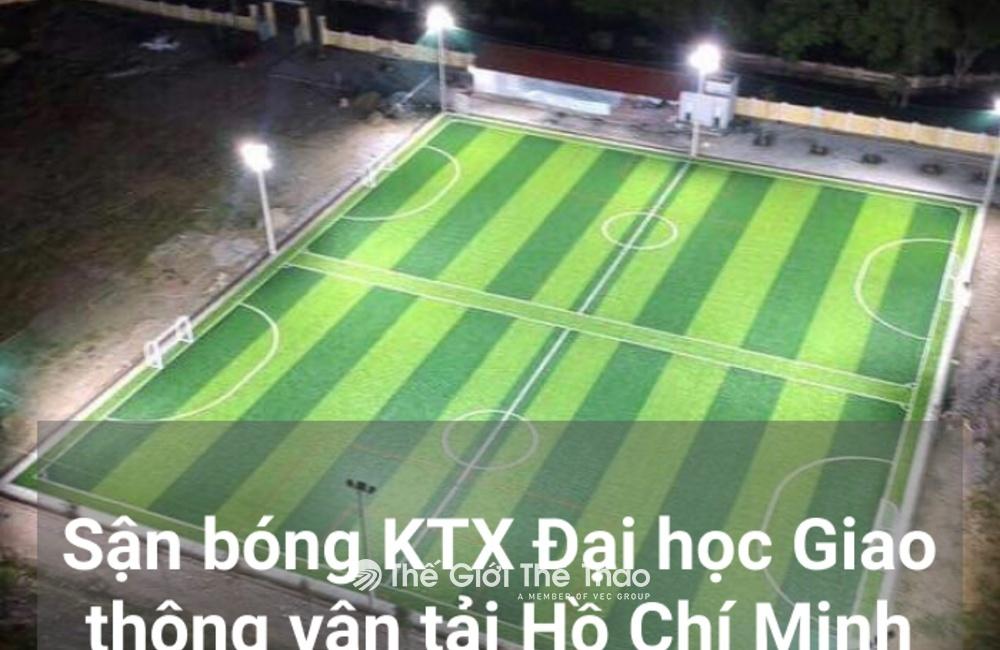 Sân bóng đá Kí túc xá trường ĐH Giao thông vận tải Hồ Chí Minh