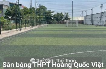 Sân bóng Trường THCS Hoàng Quốc Việt