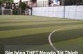 Sân bóng Trường THPT Nguyễn Tất Thành
