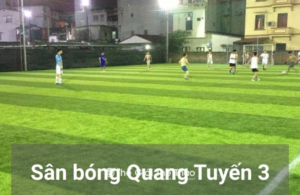 Sân bóng CLB Bóng Đá Quang Tuyến 3
