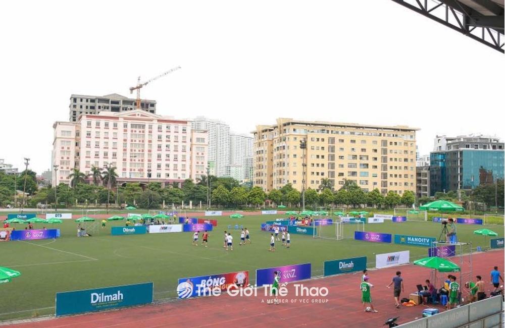 Sân bóng Bộ Công An - Thịnh Liệt - Thanh Trì