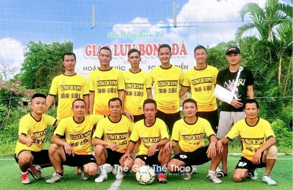 Sân bóng nhân tạo Hoàng Vân Nam Định