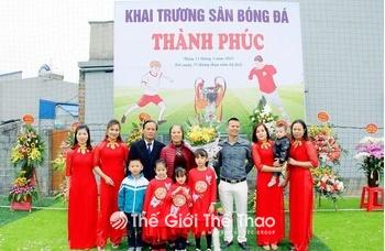 Sân cỏ nhân tạo Thành Phúc - Nam Trực - Nam Định