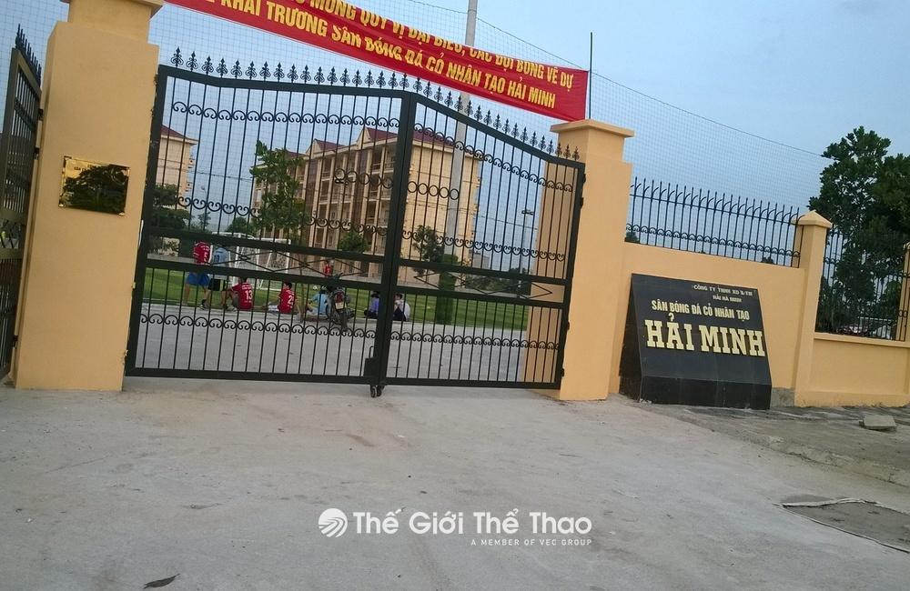Sân bóng cỏ nhân tạo Hải Minh - Phủ Lý Hà Nam