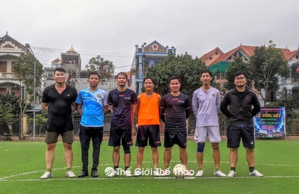 Sân bóng đá Nhật Minh Quang - Phủ Lý Hà Nam