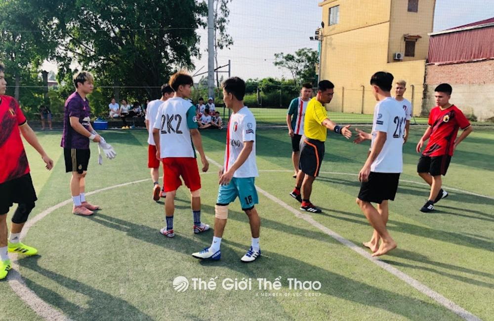 Sân cỏ nhân tạo Cường Sức - Ý Yên Nam Định