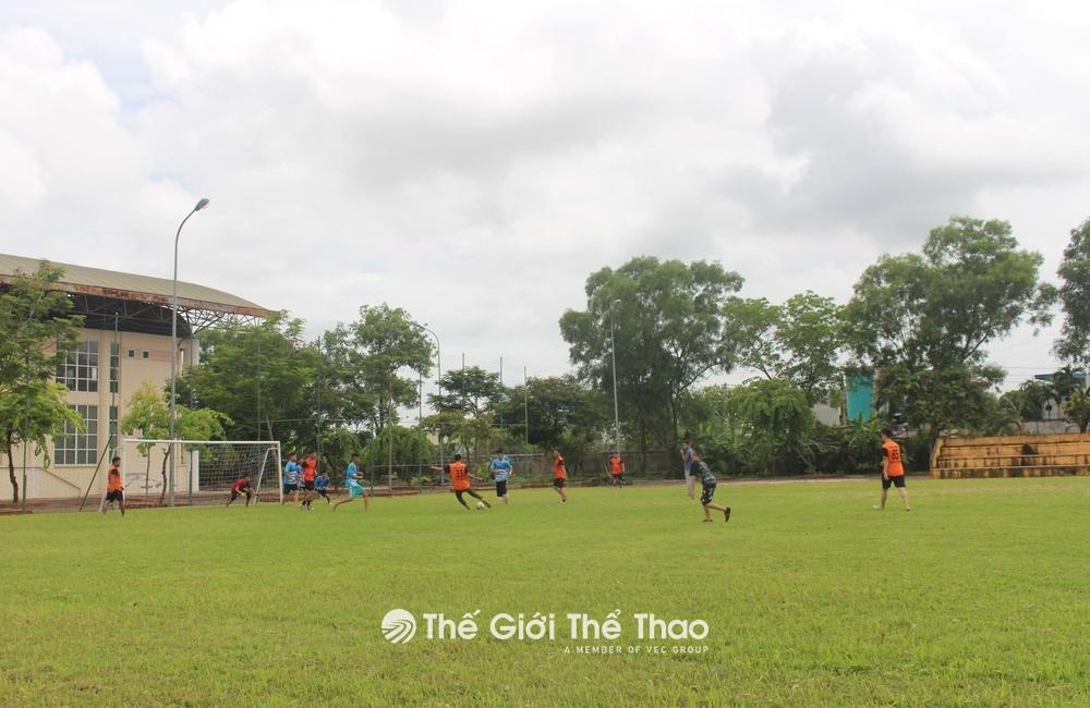 Sân bóng trường Cao đẳng Xây Dựng Nam Định - Tp. Nam Định