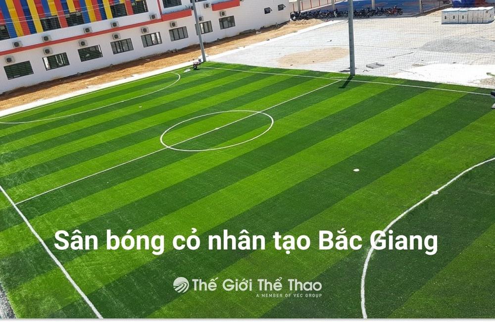 Sân Bóng Trường Tiểu Học Nhã Nam - Tân Yên Bắc Giang