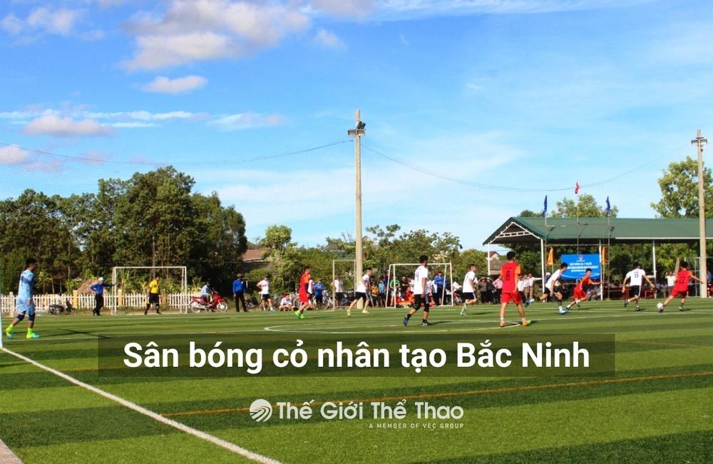 Sân bóng Trường THPT Trần Nhân Tông - Tiên Du Bắc Ninh