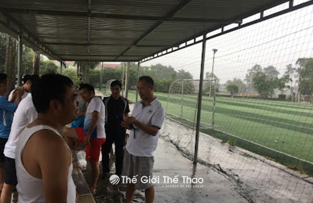 Sân bóng nhân tạo nhà văn hoá Mao Lại - Quế Võ Bắc Ninh