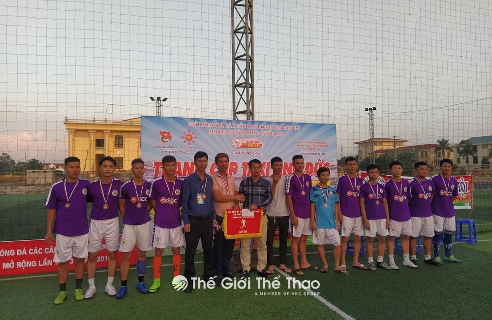 Sân bóng nhân tạo Tiên Lữ - Tiên Lữ Hưng Yên