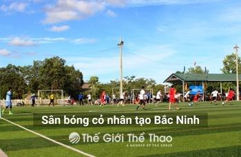 Sân bóng Trường THPT Yên Phong 2 - Yên Phong Bắc Ninh