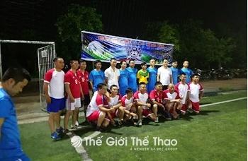 Sân bóng đá cỏ nhân tạo Tô Hiệu - Khoái Châu