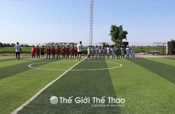 Sân bóng Tân Thành - Kim Sơn Ninh Bình