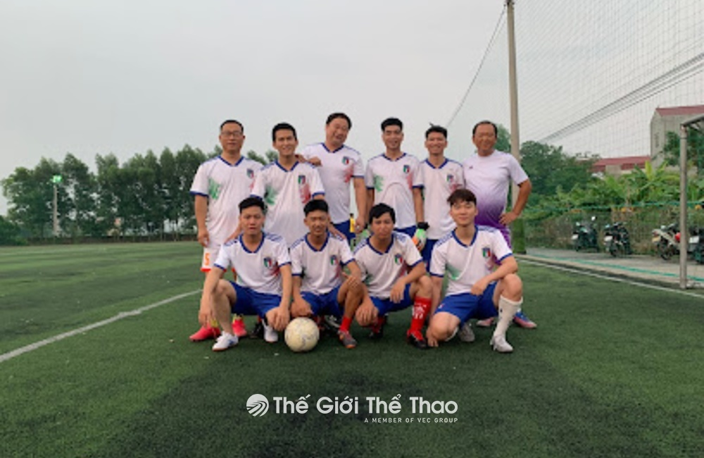Sân cỏ nhân tạo xã Hồng Thái - Việt Yên Bắc Giang