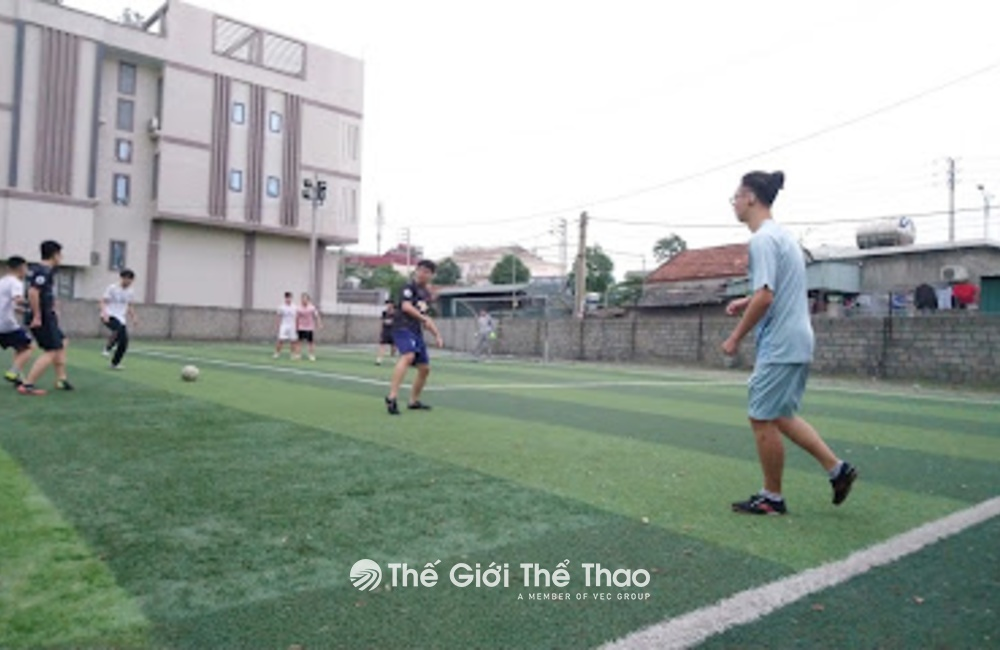 Sân cỏ nhân tạo Lương Thế Vinh - Cẩm Phả Quảng Ninh