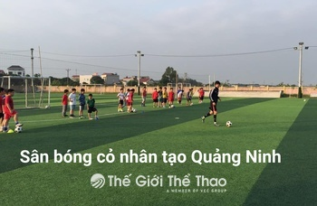 Sân Bóng Trường THPT Hùng Vương - Cẩm Phả Quảng Ninh