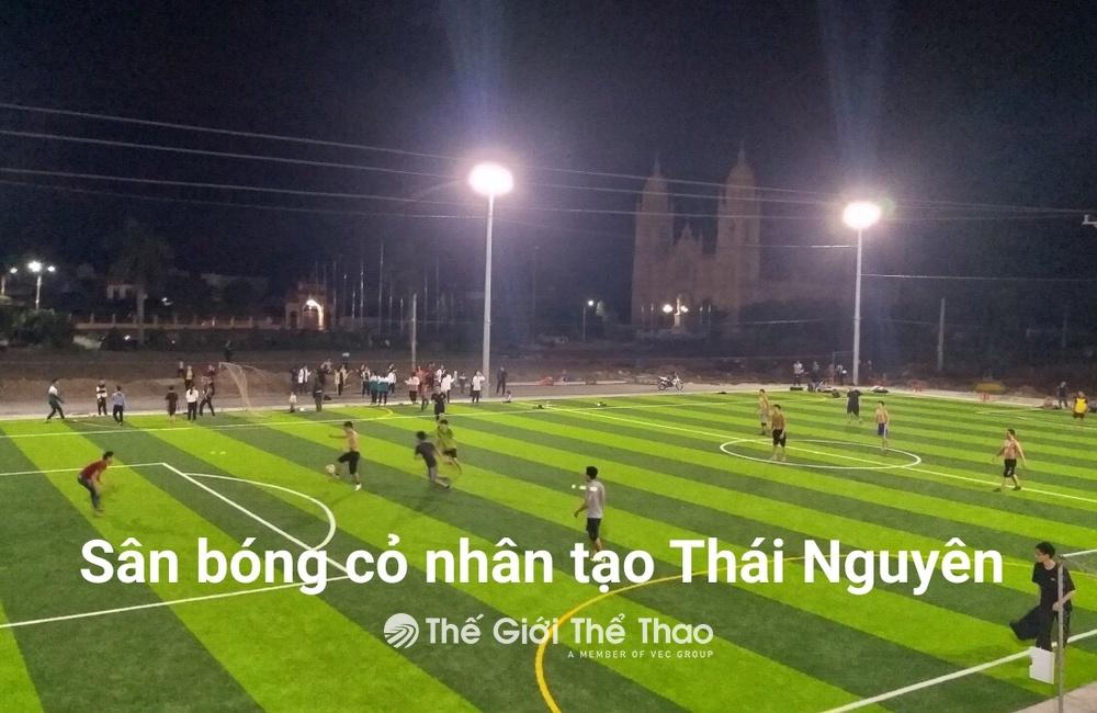 Sân Bóng THCS Hùng Sơn - Đại Từ Thái Nguyên