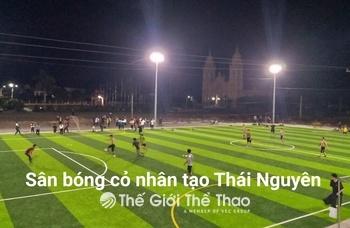 Sân bóng cỏ nhân tạo Tú Hải - Đồng Hỷ Thái Nguyên