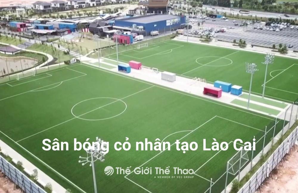 Sân bóng đá cỏ nhân tạo phường Bình Minh - Lào Cai