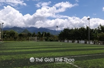 Sân bóng Cung thiếu nhi - Lai Châu