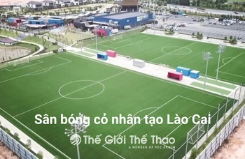 Sân bóng cỏ nhân tạo Bắc Hà - Bắc Hà Lào Cai