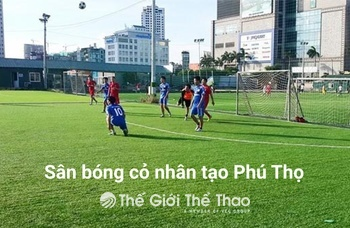 Sân bóng trường THPT Việt Trì - Việt Trì Phú Thọ