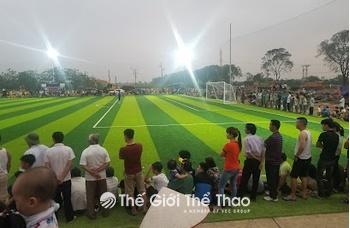 Sân Bóng Xã Tứ Xã - Lâm Thao Phú Thọ