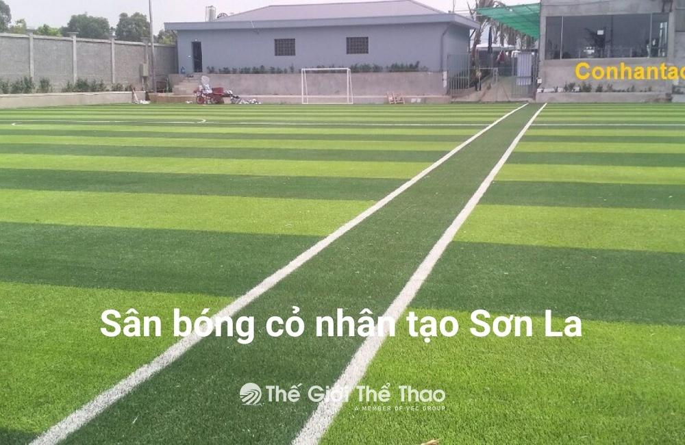 Sân Bóng Nhân Tạo Huổi Một - Sông Mã Sơn La