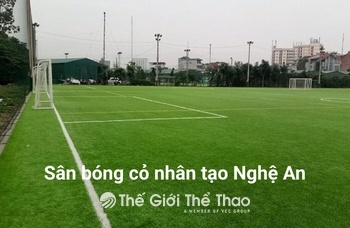 Sân Bóng Trường Cao đẳng nghề Hoan Châu - Diễn Châu Nghệ An