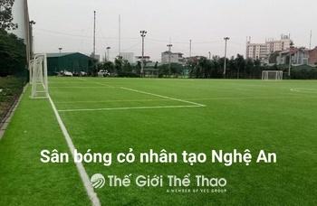 Sân tập cỏ nhân tạo CLB SLNA - TP Vinh Nghệ An