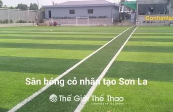 Sân Bóng Trung Tâm Thanh Thiếu Niên Sơn La - Sơn La