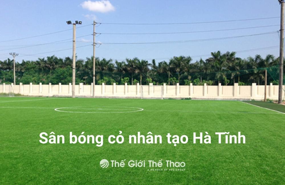 Sân bóng Trường Trung Cấp Nghề Lý Tự Trọng - Can Lộc Hà Tĩnh