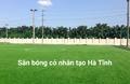 Sân bóng đá bắc Hồng - Hồng Lĩnh Hà Tĩnh
